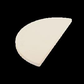 Pierre à pizza demi-lune  L